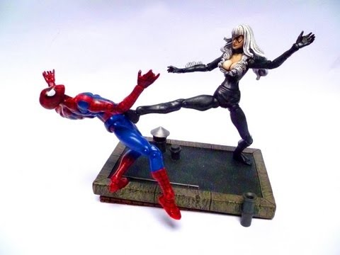 marvel legends black cat custom action figure how to save money and do it yourself. Black Bedroom Furniture Sets. Home Design Ideas