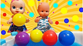 Baby Alive Bath Time in GELLI BAFF Nenuco Baby Dolls Colour Balls for Kids
