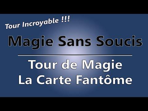 Tour de Magie de carte EXPLIQUÉ - Carte Fantôme