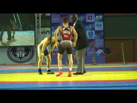 ЧЕ 2013 60 кг.  Иван Куйлаков -  Ангелов (Болгария)