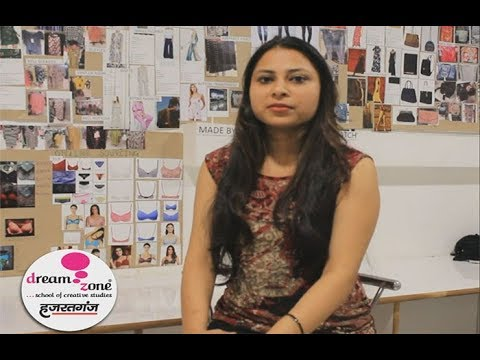 Fashion Designing Student's Training Experience at Dream Zone Hazratganj