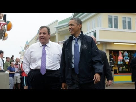 Christie and Obama's Boardwalk Bromance