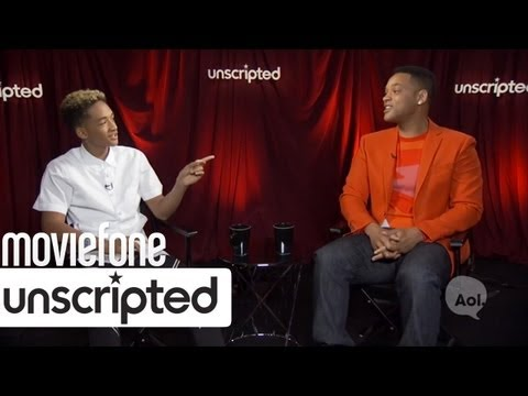'After Earth' Unscripted: Will and Jaden Smith Interview | Moviefone