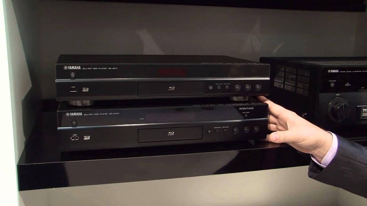 Blu Ray Player 2011 Yamaha Blu-ray Player