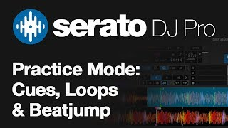 Using Cues, Loops and Beat Jump in Serato DJ Pro Practice Mode