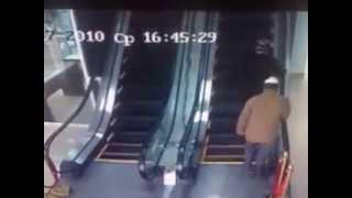 Prve pokretne stepenice u Uzbekistanu :D