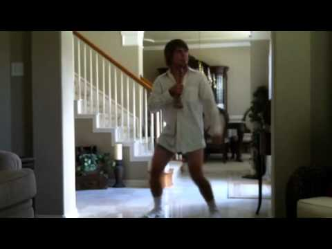"""Risky Business"" Tom Cruise Underwear Dance"