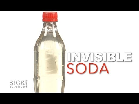 Invisible Soda Sick Science 169 Youtube
