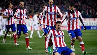 Real Madrid 1-2 Atletico Goles Audio COPE Liga 13/09/14