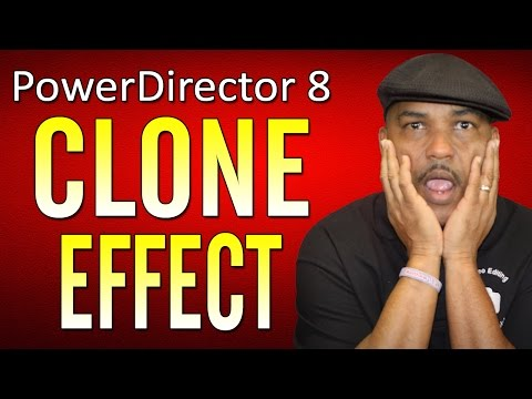 How to Clone Yourself - CyberLink PowerDirector 8 Ultra