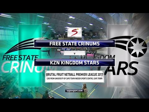 Brutal Fruit Netball Premier League 2017 - Crinums vs Kingdom Stars