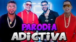 Anuel Aa Ft Daddy Yankee Adictiva Parodia Anuel Aa 2019
