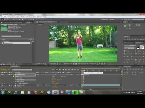 Flying Tutorial : Part 2 After Effects/Vegas/Premier Video