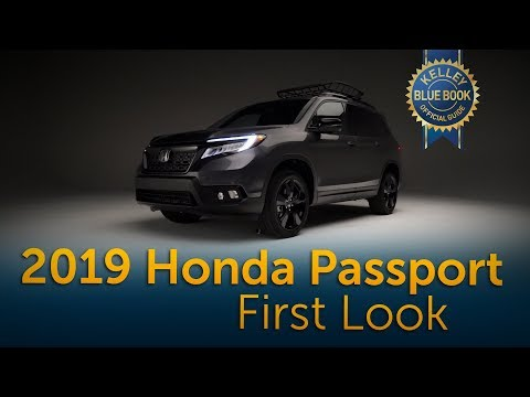 2019 Honda Passport -  First Look