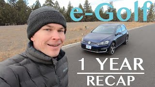 1 Year with the e-Golf
