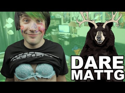 Dare MattG 63 (Pony Tattoo, Draw My Life, Wearing Bras)