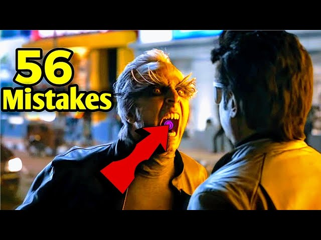 56 Mistakes of 2.0 | 2.0 movie Mistakes | ROBOT 2.0 Mistakes | Rajnikant, AkshayKumar thumbnail