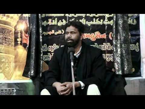 India Maulana Kamran Haider Majlis 7 Asra Muharram/Saffar 1433/2011