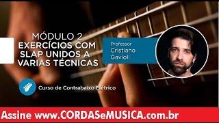 download musica Contrabaixo - Exercícios com Slap Unidos a Varias Técnicas - Cordas e Música