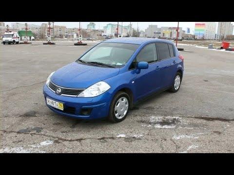 2008 Nissan Tiida. Обзор (интерьер, экстерьер, двигатель).