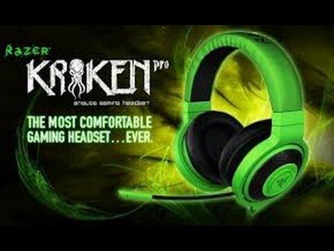 Unboxing Razer Kraken Pro Analog Gaming Headset