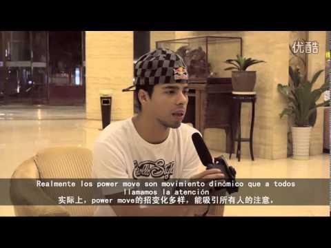BBOY LIL G 2014 INTERVIEW - SPANISH VERSION IN CHINA
