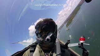 F/A-18A Hornet - Sydney Harbour Fly Over on Australia Day 2019