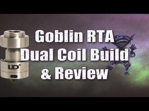 Goblin RTA Dual Coil Build & Review   VAPEFOG