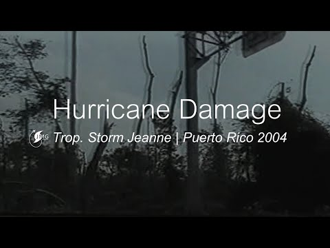 Tropical Storm Jeanne: Damage in Puerto Rico [2004]