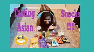 Asian Snack Taste Test