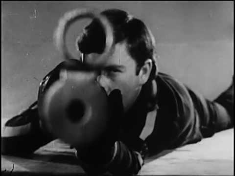 Малокалиберная винтовка, Техника стрельбы лежа