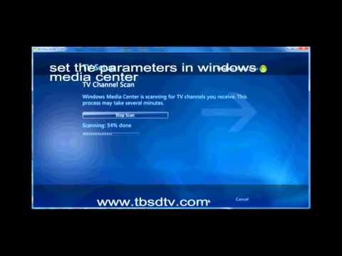 How to watch freeview TV on Windows Media Center with TBS6220 DVB-T2 TV Tuner?