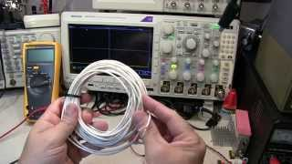 #162: How to measure coax velocity factor VF and impedance Z