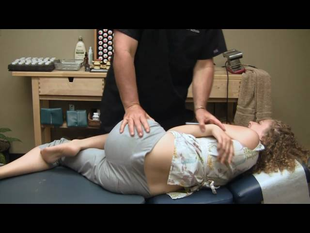 First Time Chiropractor Hip Adjustment Demonstration by Austin Chiropractic Care