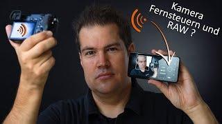Sony Kamera mit Smartphone Fernsteuern + Bilder in RAW schießen ?