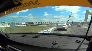 BimmerWorld Racing Tyler Cooke BMW E90 328i Sebring International Raceway Race Start