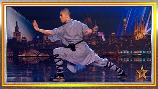 Chinese KUNG FU Warrior stuns the JUDGES | Auditions 8 | Spain's Got Talent 2019