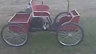 Horseless buggy/Henry ford replica