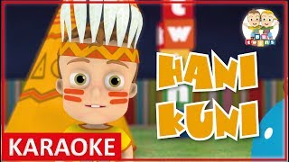 KARAOKE || Hani Kuni | Nursery Rhymes - Kids Songs