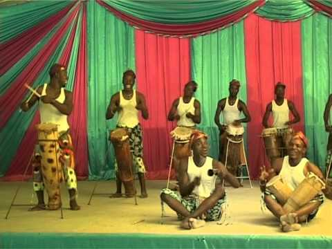 Les Freres Olowumbe West Africa Benin Traditionnal Gospel Band  News Video Production