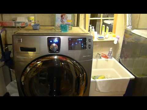 2015 Kenmore Elite Washer and Dryer Cycle