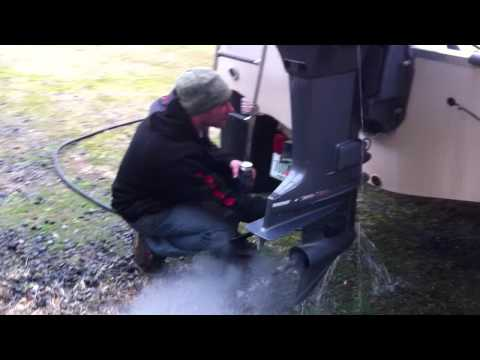 Winterizing A Two Stroke Outboard