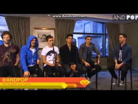 The Wanted's Interview With ANDPOP.com (Part 1)