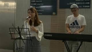 擱淺 + 不能說的秘密 (Cover by Chung Tung) @尖沙咀L6出口Busking (2018.11.03)