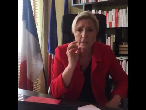 Réaction de Marine Le Pen après attentat de Magnanville