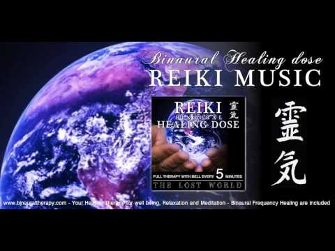 靈氣 Reiki Music Healing: The Lost World (full Binaural Therapy With Bell Every 5 Minutes) video