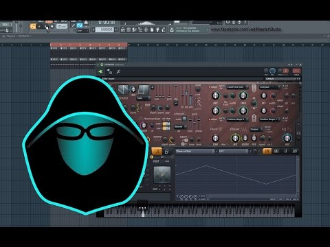 FL Studio TUTORIAL PL - PHASED PSYTRANCE MELODY EFFECT