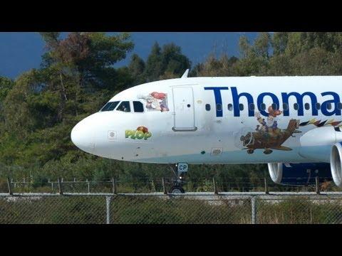 Zakynthos Airport, plane spotting, landing, take off, Dionysios Solomos, IATA: ZTH, ICAO: LGZA.
