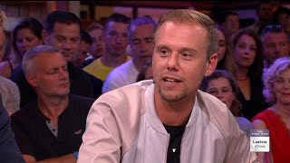 Armin van Buuren over Avicii - RTL LATE NIGHT