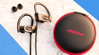 You Can Swim With These Budget Bluetooth Earphones[ Mpow Flame Hindi Review.!]